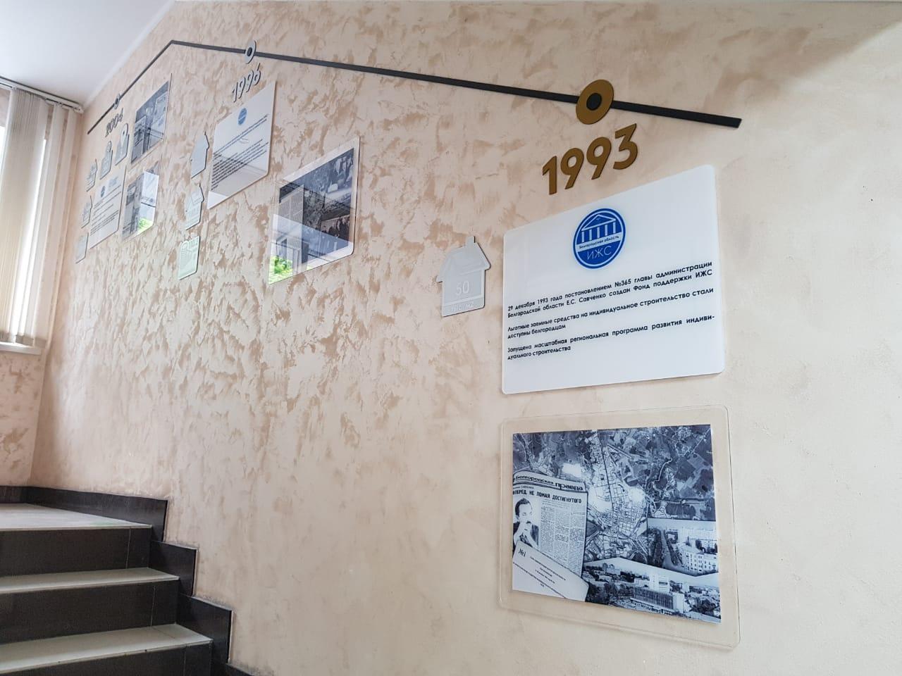 история ИЖС оформление стен